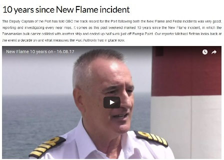 10 Years Since New Flame Incident Image