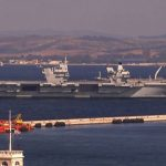 HMS Artful and HMS Prince Of Wales make an excitingly historic stop at Gibraltar